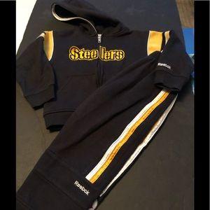 Boy's Pittsburgh Steelers Jogging Suit